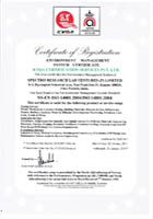 NABL Certificate of ISO 14001:2004
