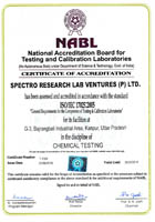 NABL Certificate of Chemical